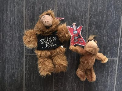 Alf collection one is a puppet with tags