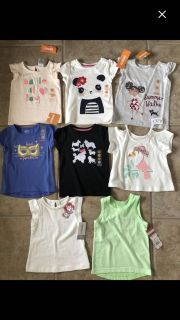 All NWT 12-17 month t shirts