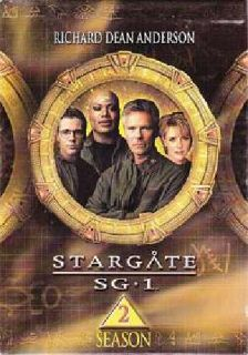 STARGATE SG-1, Season 2 Giftset (DVD, 2002, 5-Disc Set)