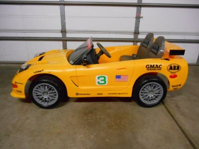 Corvette Racing Ride On C5R by Safety First Kids for Collectors