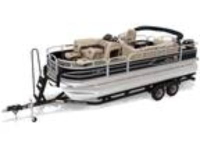 22' Sun Tracker Fishin' Barge 20 DLX 2019