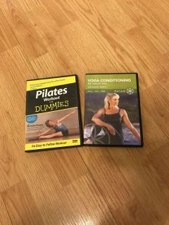 Pilates and yoga workout dvds