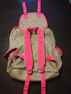 Pink Backpack Used Item