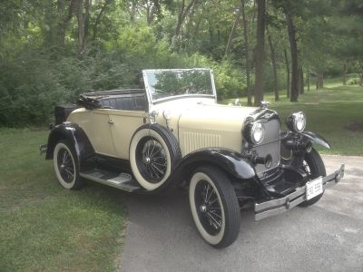 1929 Shay Roadster, l980 Reproduction 1929 Model A