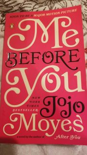 Me before you paperback by Jojo Moyes