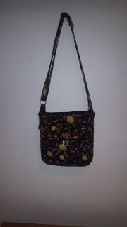 Adjustable strap cloth purse cross posted