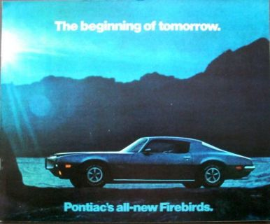 Buy Original 1970 Pontiac Firebird Dealer Sales Brochure Formula Trans Am motorcycle in Holts Summit, Missouri, United States, for US $17.70