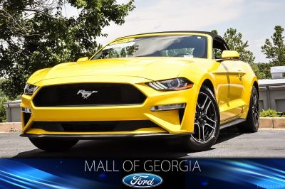 2018 Ford Mustang EcoBoost Premium (yellow)