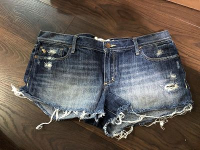 Abercrombie and fitch size 10 Jean shorts