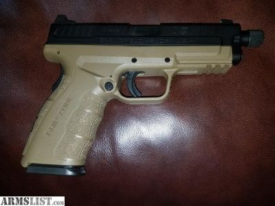For Sale: Springfield armory xd9 threaded