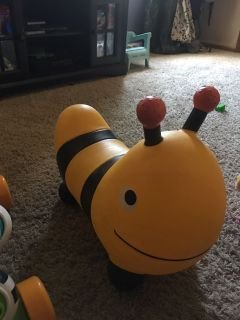 Bumblebee Bouncy Toy