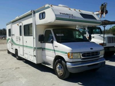 1999 Ford E450 SUPER DUTY Motor Home (White)