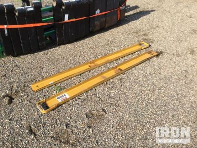 "Lot of (2) 72"" Fork Extensions"
