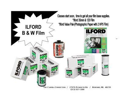 B & W Film (35mm & 120)