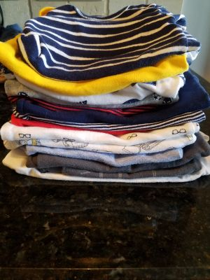 Lot of Carter's 3 month boy onesies