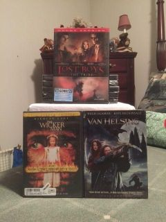 """REDUCED - """"BRAND NEW-UNCUT VERISION"""" copy of the """"Lost Boys the Tribe""""; EUC copies of the """"The Wicker Man"""" & """"Van Helsing"""" DVD's $12.00"""