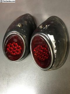 55-61 Snowflake Tail Lights