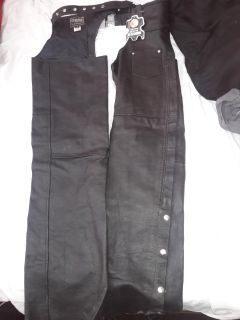 Genuine leather chaps