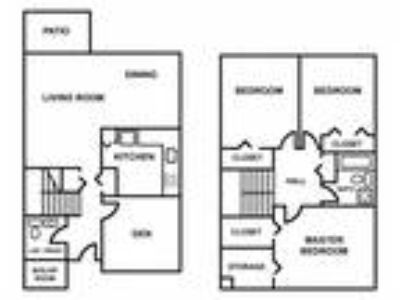 Meadowbrook Apartments - Three BR Townhouse