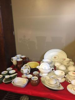 Vintage Huge lot of Hall China & pottery ONLY $50. OBO