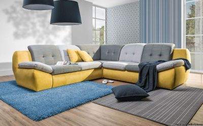 Fun and Unusual Abito Sectional Sofa