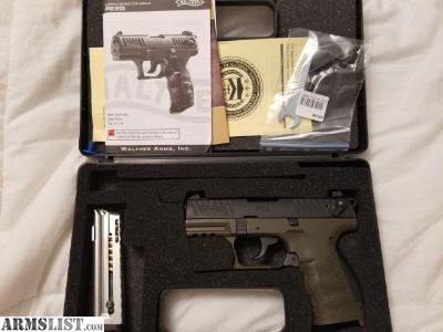 For Sale/Trade: Walther p22 threaded