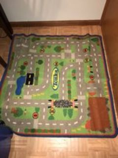 Play Rug Kids Cars Rug