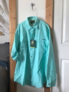 Large-Tall NWT Fishing shirt
