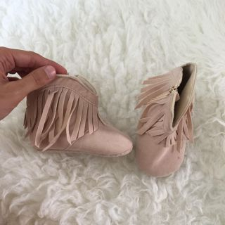 Blush dying boots sz 3