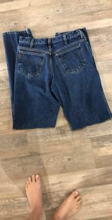 Cinch up jeans barely worn
