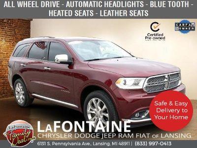 2018 Dodge Durango Citadel (Octane Red Pearlcoat)