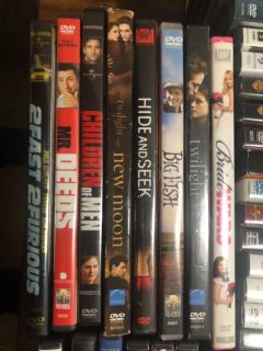 DVDs for $1 each