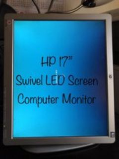 HP computer LED screen