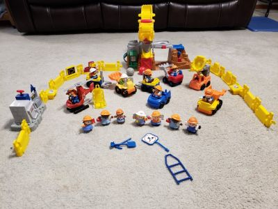 Fisher Price Little People Construction Site Set