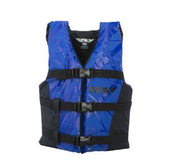 Sell FLY Racing Youth Vest Life Vest Black/Blue OS motorcycle in Holland, Michigan, United States, for US $36.42