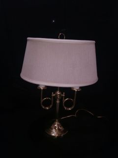 Lamp, Brass Candlestick Style for Table