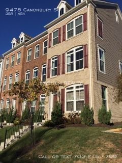 Luxury Town Home Located Within Walking Distance of Vienna Metro!