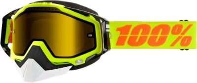 Buy 100% Racecraft Snow Goggles Yellow w/Yellow Lens 50103-004-02 motorcycle in Lee's Summit, Missouri, United States, for US $69.95