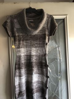 Different shades of tan and brown size medium sweater