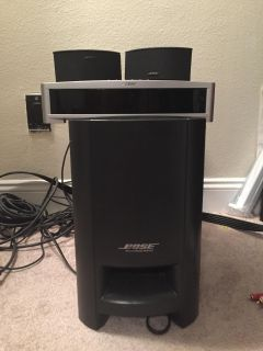 BOSE 321 GS SERIES II HOME THEATER ENTERTAINMENT SYSTEM