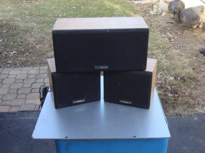 FISHER 3 PC. SPEAKER SYSTEM