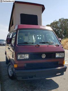 1990 Westfalia Camper - Complete