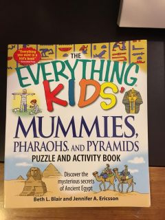 NEW Everything Kids Activity Book