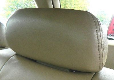 Purchase 2001-2003 ACURA MDX TAN LEATHER REAR HEAD REST SET OF THREE motorcycle in King of Prussia, Pennsylvania, US, for US $72.99