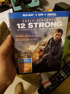 New! Never watched 12 Strong Blu-Ray ONLY