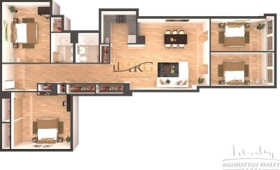 Roommate wanted in 4br 2bath apartment in Tribeca House