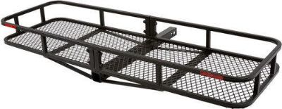 "Sell NEW 60x20 CARGO CARRIER LUGGAGE RACK BASKET-HAULER-2"" HITCH (CCB-6020-DLX) motorcycle in West Bend, Wisconsin, US, for US $129.99"