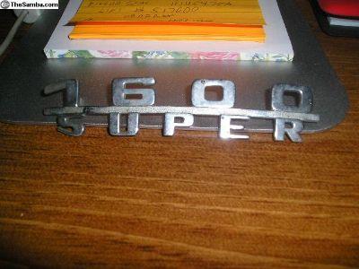 1600 super emblem