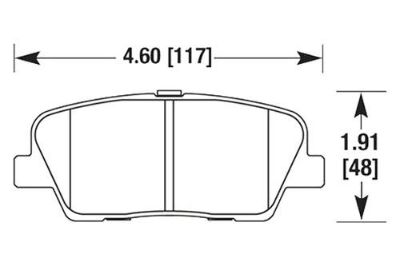 Find HAWK HB662Z.587 - 2010 fits Hyundai Genesis Coupe Rear Brake Pads Ceramic motorcycle in Chino, California, US, for US $85.80