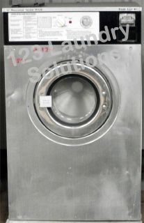Fair Condition Wascomat Front Load Washer 208-240v Stainless Steel W124